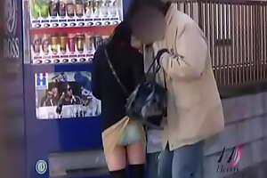 Sharking - Briefcase Stuck to Skirts Prank EITD-01