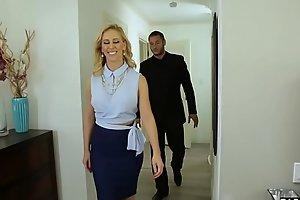 Unfaithful husband fucks the MILF real estate agent