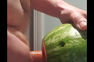 Stole a Melon From my ASSHOLE Neighbors Garden and Fucked it Like a BOSS