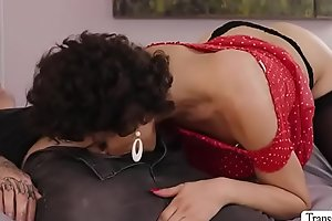 Hot Tgirl Anaya in hot anal sex with dude with a big cock