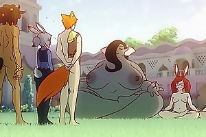 [Manyakis] What if Zootopia was an Anime