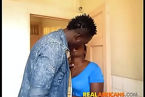 African Booty Drilled Hard