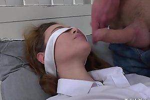 Trick Your GF - Stranger fucks blindfolded gf Gisha Forza