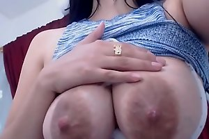 Small Breasts, Big Breasts, Lactating Breasts (3 solo scenes)