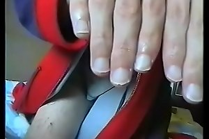 11 - Olivier (Ongles1234) hand fetish sucking his thumb, licking his fingers and biting his nails hand worhsip compilation 11 (recorded in end 2006 / starting 2007)