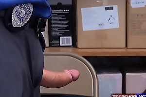 Soccer Mom Caught Shoplifting and Enjoy her Punishment