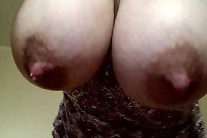 Dangling Swollen Breasts