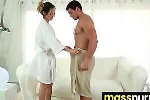 slippery nuru massage for lucky dude 12