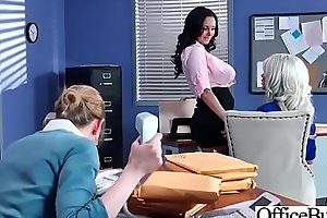 Hot Nasty Cute Girl (Ava Addams and Riley Jenner) With Big Juggs Like Sex In Office vid-06
