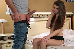 Abduction - a professional takes mirella's chastity