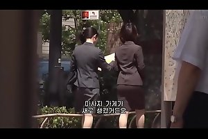 Female Office Worker'_s Sexual Massage Experie