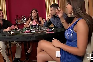 Two incredible hotties screwed hard in slay rub elbows with casino