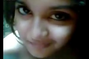 Uncompromisingly very cute girl selfi desi gf