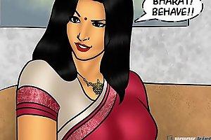 Savita Bhabhi Episode 78 - Pizza Administering  XXX  Extra Sausage !!!