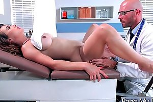 Hard style sex adventures with doctor and hot p...