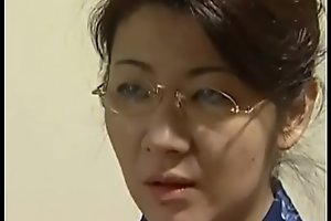 beautiful japanese mom seduce son