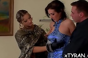 Excited playgirl lives out her fetish and gets juicy pussy licked