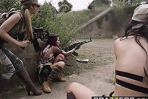 Brazzers - Pornstars Of necessity Big - Cock Of Duty A XXX Take off scene starring Jasmine Jae Monique Alex