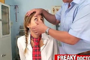 Old bawdy cleft doctor treats a school dirty slut wife rachel evans