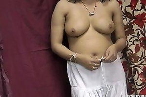 Rupali Good-looking Shalwar Wanting Fretting Their way Indian Pussy