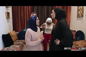 Muslim girls in HIJAB fuck a BBC before marriage
