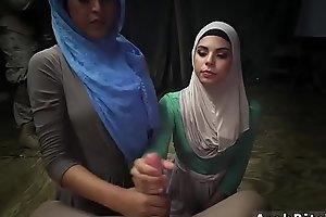 Muslim cumshot Sneaking in the Base!