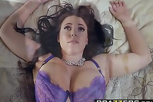 Brazzers - Unmitigated Spliced Stories -  Its A Wonderful Sex Life scene starring Angela Washed out and Charles Der