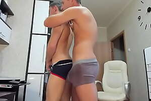 Russian Daddy and Twink Hot Cam Session