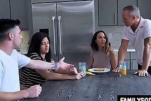 dad and daughter fuck mom