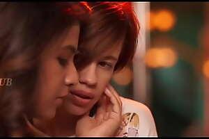 Actress Anjali hot kiss webseries