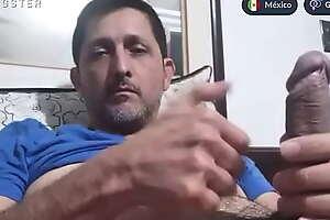 Papi mexicano vergón engañado por cam